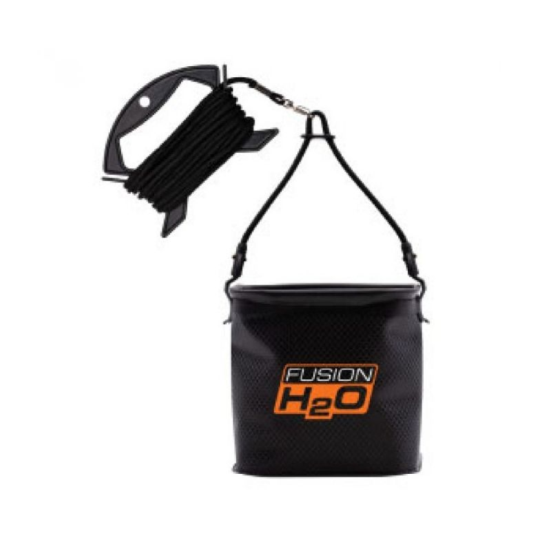 Guru Fusion H20 Water Bucket noir - orange