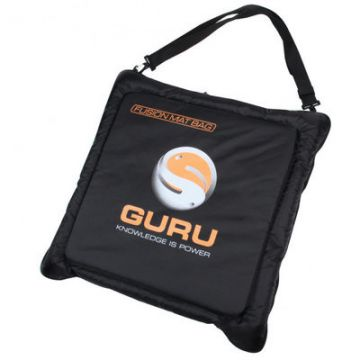 Guru Fusion Mat Bag black witvis onthaakmat