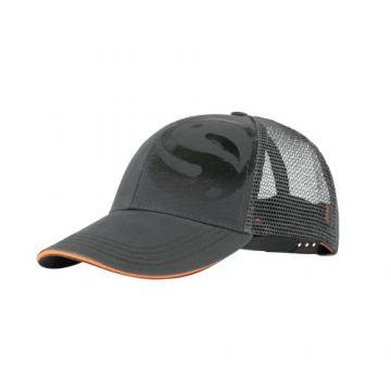 Guru Grey Trucker Cap grijs - oranje pet Uni
