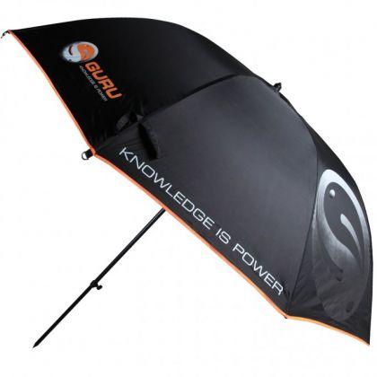 Guru Large Umbrella zwart - grijs visparaplu 2m20