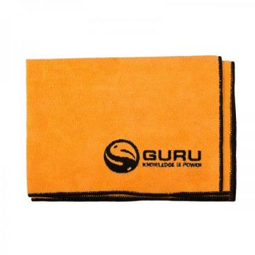 Guru Microfibre Towel orange - noir