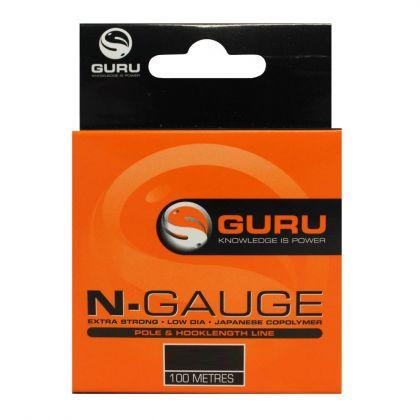 Guru N-Gauge clear visdraad 0.11mm 100m