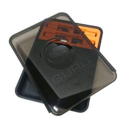 Guru Punch Box zwart - oranje visdoos