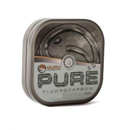 Guru PURE Fluorocarbon clear visdraad 0.25mm 50m
