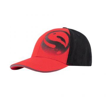 Guru Red 3D Cap zwart - rood pet Uni
