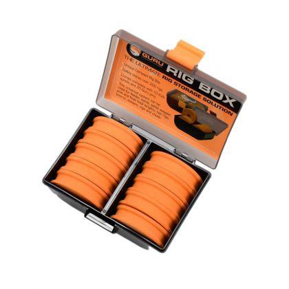 Guru Rig Box zwart - oranje visdoos