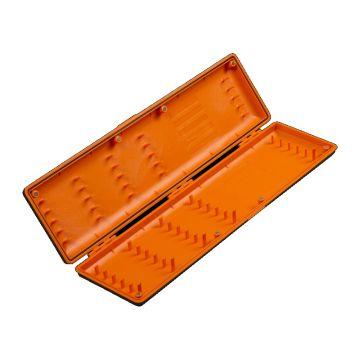 Guru Rig Case Long noir - orange