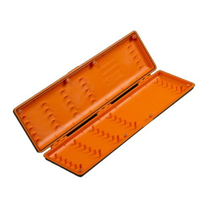 Guru Rig Case Long zwart - oranje visdoos
