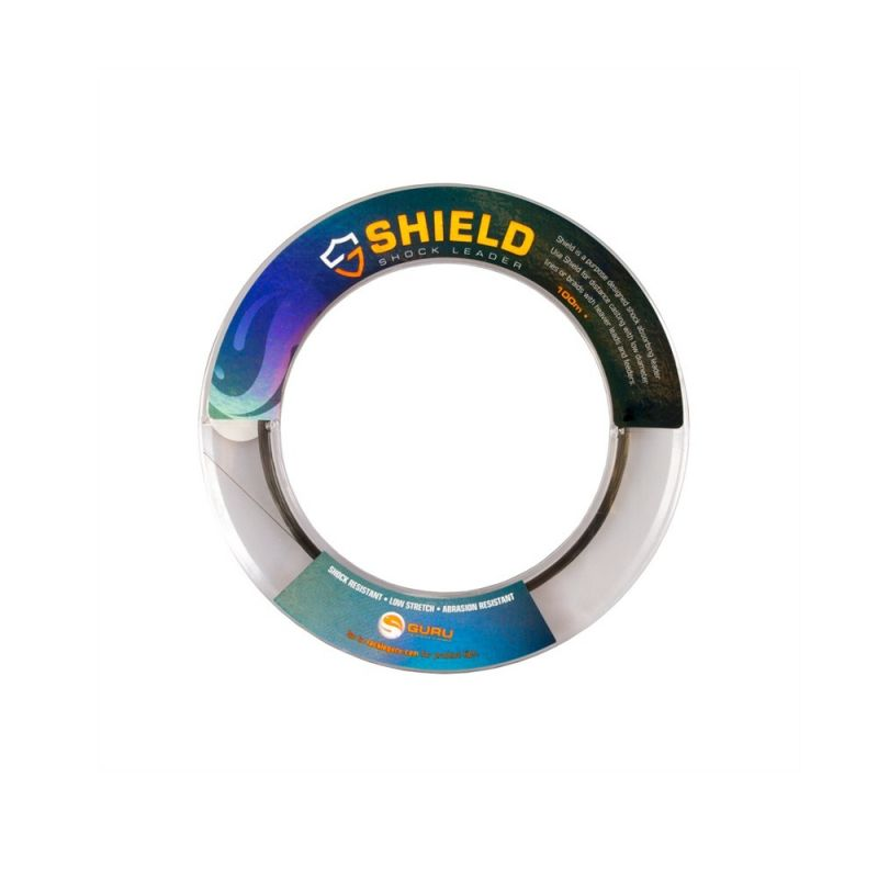 Guru Shield Shockleader bruin visdraad 0.28mm 100m