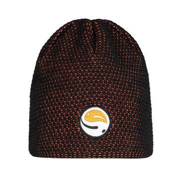 Guru Skullcap Black Orange oranje - zwart muts Uni
