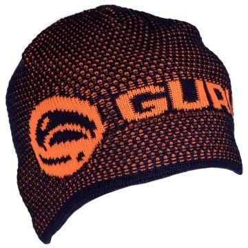 Guru Skullcap oranje - blauw muts Uni