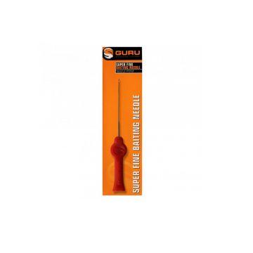 Guru Super Fine Baiting Needle rood - metaal klein vismateriaal