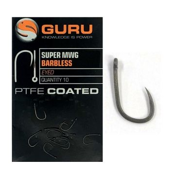 Guru Super MWG grijs - zwart vishaak 16