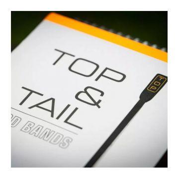 Guru Top & Tail Rod Bands zwart - oranje visfoudraal