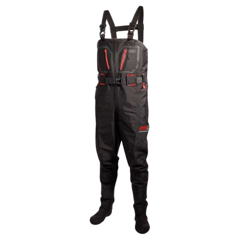 Hart Wading Spinning 25S noir - rouge  X-large