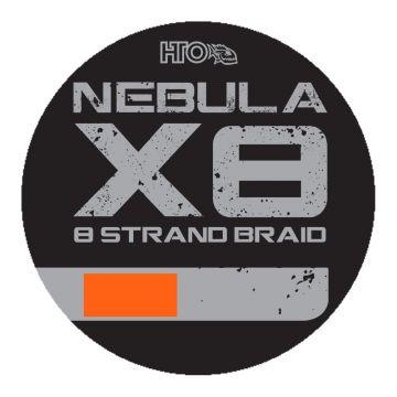 Hto Nebula X8 Strand Braid orange gevlochten visdraad 0.14mm 150m