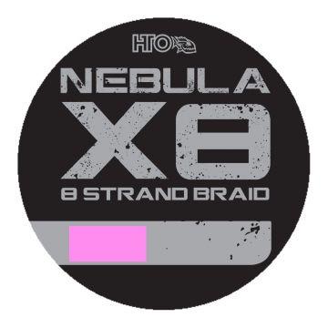 Hto Nebula X8 Strand Braid pink gevlochten visdraad 0.14mm 150m
