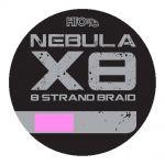 Hto Nebula X8 Strand Braid pink gevlochten visdraad 0.16mm 150m