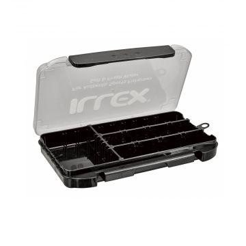 Illex Tough Case zwart - clear roofvis visdoos 210x120x25mm Slim