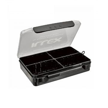 Illex Tough Case zwart - clear roofvis visdoos 210x150x54mm