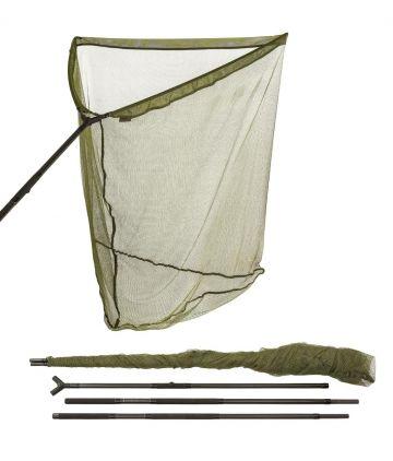 Jrc Cocoon 2G Long Reach Landing Net groen - zwart karper visschepnet 42 Inch