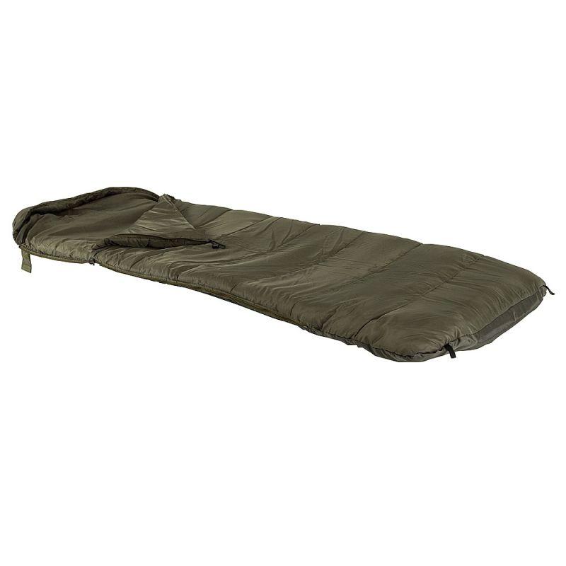Jrc Defender Fleece Sleeping Bag groen slaapzak visbed Standard