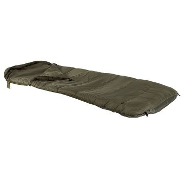 Jrc Defender Fleece Sleeping Bag groen slaapzak visbed Wide