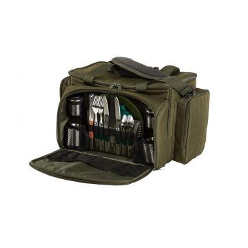 Jrc Defender Session Cooler Food Bag groen karper karpertas