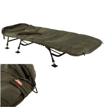 Jrc Defender Sleeping Bag groen slaapzak visbed 225x100x12cm