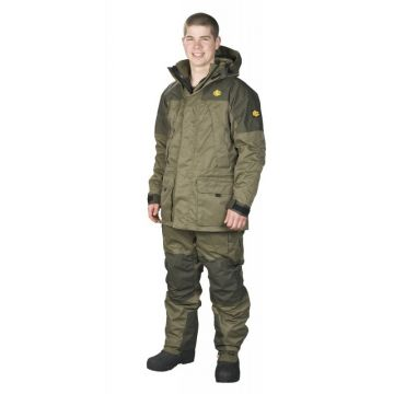 Jrc Extreme 3 In 1 Suit groen - bruin warmtepak Medium