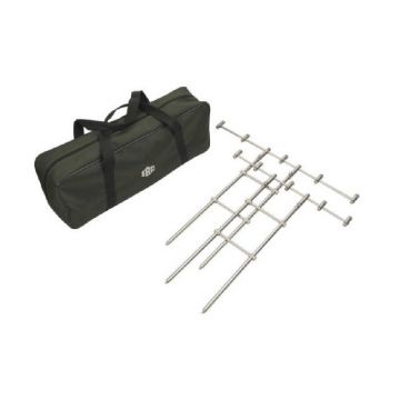 Jrc H-Bar Set Buzzer Bar zilver bankstick 3 - 4-rod
