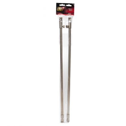 Jrc Stainless Cross Bars zilver bankstick