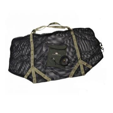 Jrc XL Euro Zip Sack zwart - groen karper bewaarzak