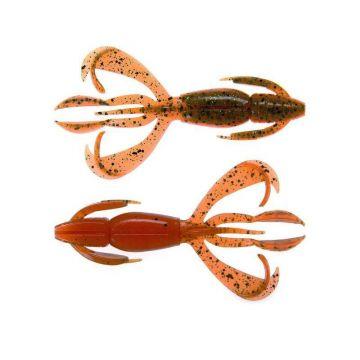 Keitech Crazy Flapper motoroil orange roofvis creature bait 3.60 Inch