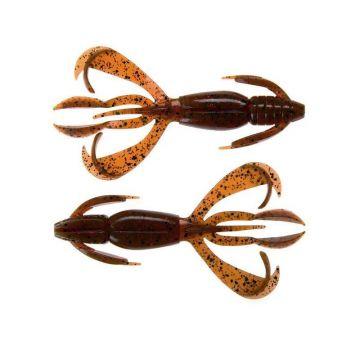 Keitech Crazy Flapper motoroil pepper roofvis creature bait 3.60 Inch