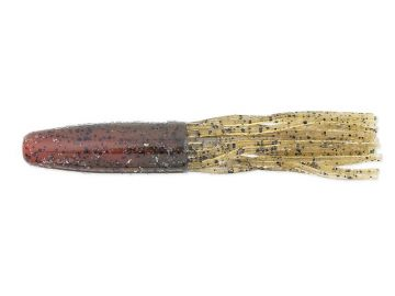 Keitech Salty Core Tubes green pumpkin crawdad roofvis creature bait 3.50 Inch