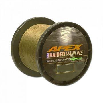 Korda Apex Braided Mainline bruin gevlochten visdraad