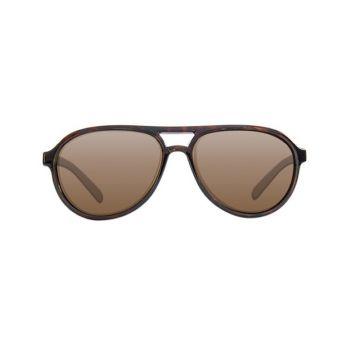 Korda Aviator zwart - bruin viszonnenbril