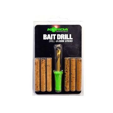 Korda Bait Drill Set groen - zilver karper rig accessoire 8mm
