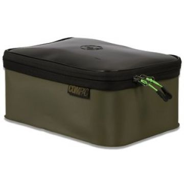 Korda Compac 220 (Tackle Box) zwart - groen karper karpertas