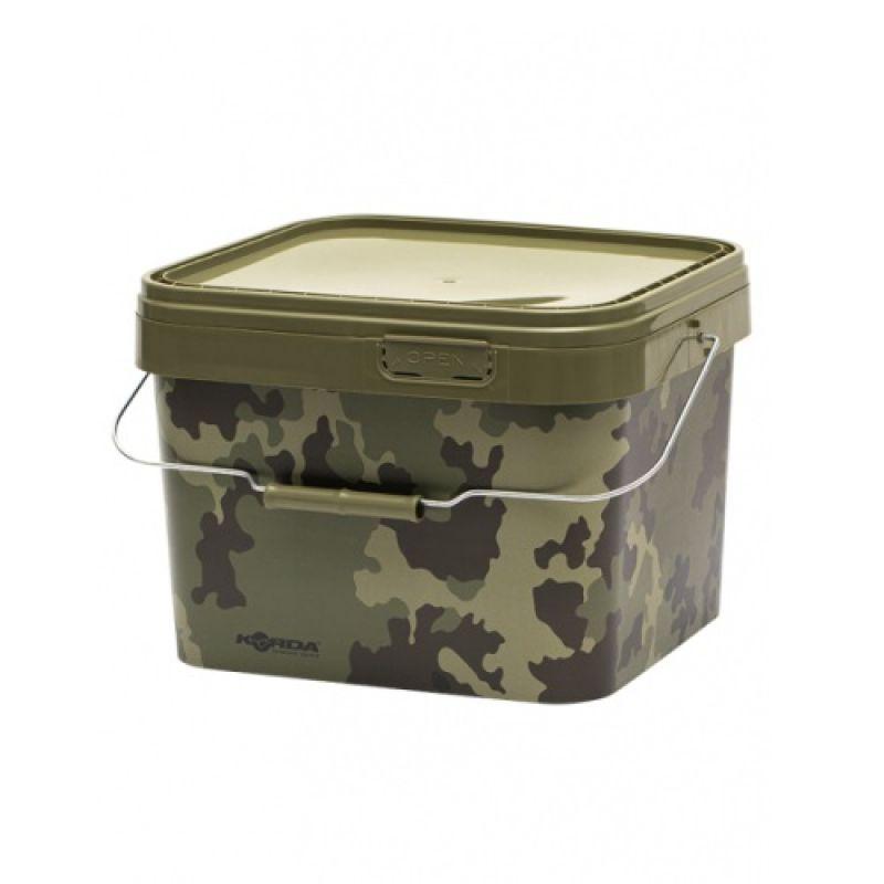 Korda Compac Bucket camo  10l