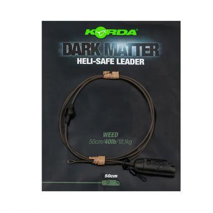 Korda Dark Matter Leader Heli Safe weed karper lood systeem 40lb 50cm
