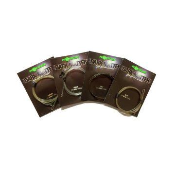 Korda Dark Matter Ring Swivel Leader clay karper lood systeem 40lb 1m00