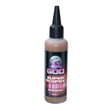 Korda GOO Super Scopex Supreme Bait Smoke rood aasdip 115ml