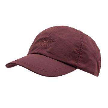 Korda KOOL Waterproof Cap Burgundy rood pet Uni