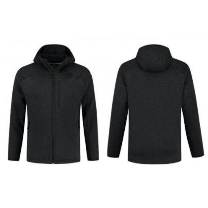 Korda Kore Polar Fleece Jacket Charcoal grijs visjas Small