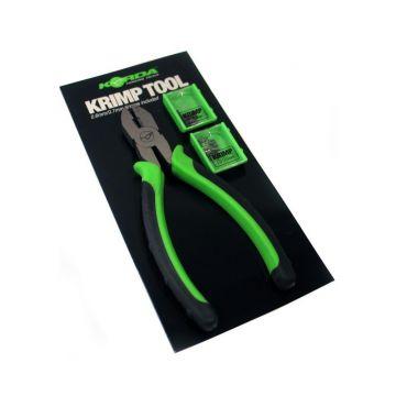 Korda Krimping Tool zwart - groen karper rig accessoire