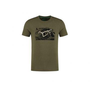Korda LE Scaley Front Tee khaki vis t-shirt X-large