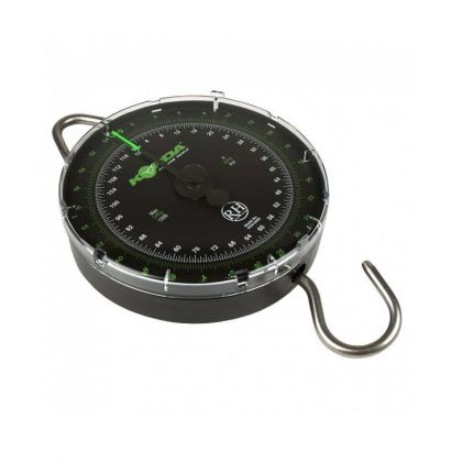 Korda Limited Edition Scale groen - clear visweegschaal