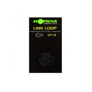 Korda Link Loop zwart karper klein vismateriaal